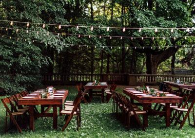 Freedom Farm Tables Setup 4